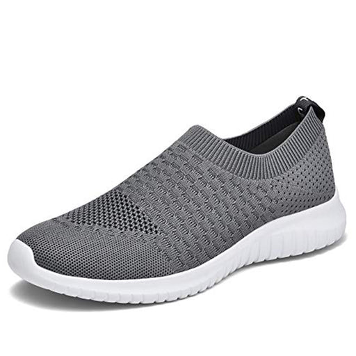 Konhill Men's Knitted Walking Shoes-DW
