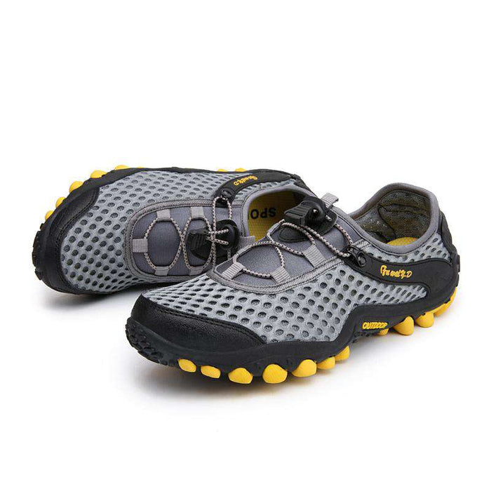 Konhill Men's Fashion Outdoor Hiking Shoes