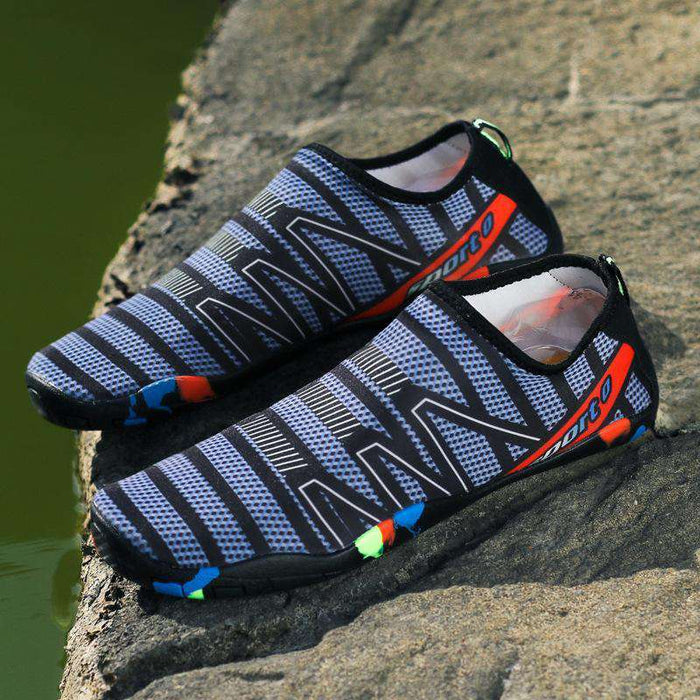 Unisex Water Shoes-Stripe