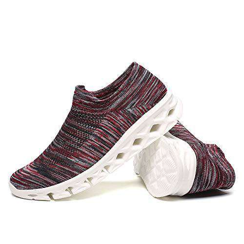 KONHILL Unisex Slip-on Walking Shoes-SC