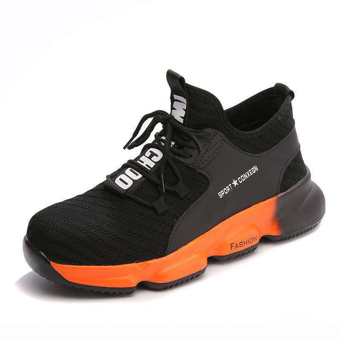 Tiosebon Breathable Safety Work Shoes