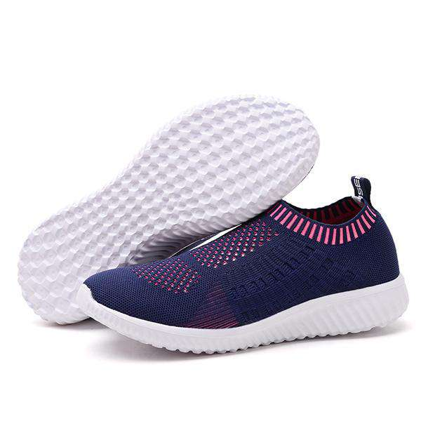 Konhill Women's Slip-on Walking Shoes