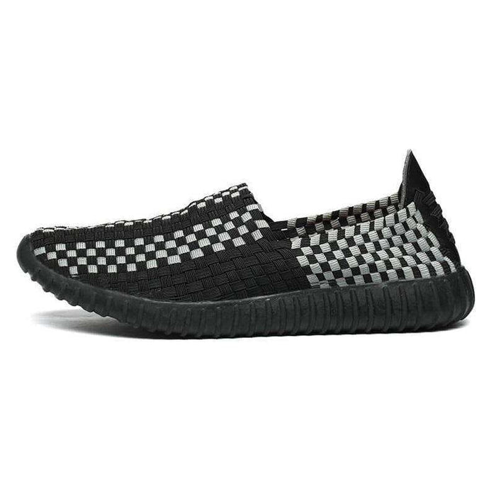 KONHILL Knitted Handmade Woven Shoes