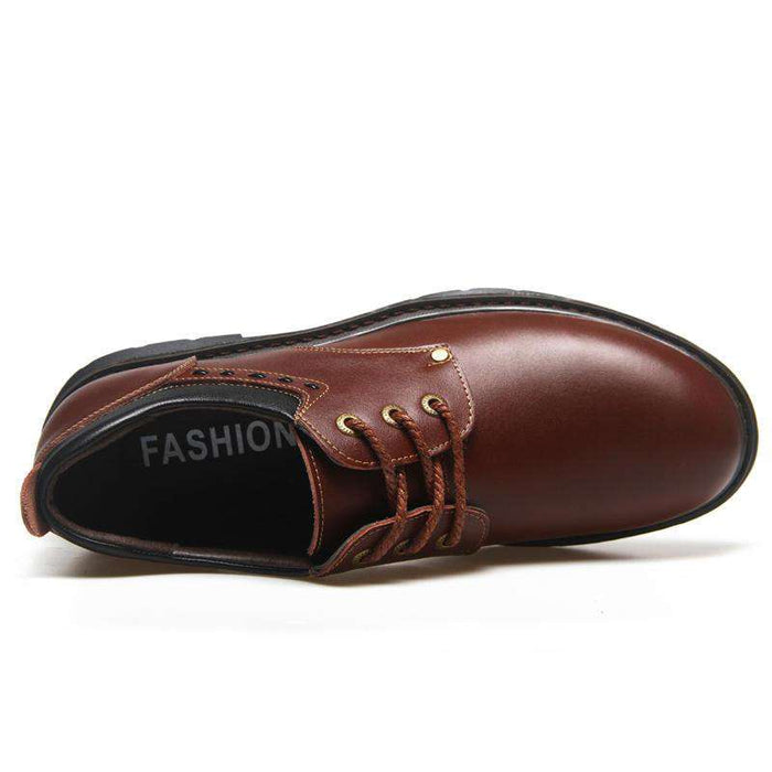 Men's Classic Round Toe Casual Oxfords