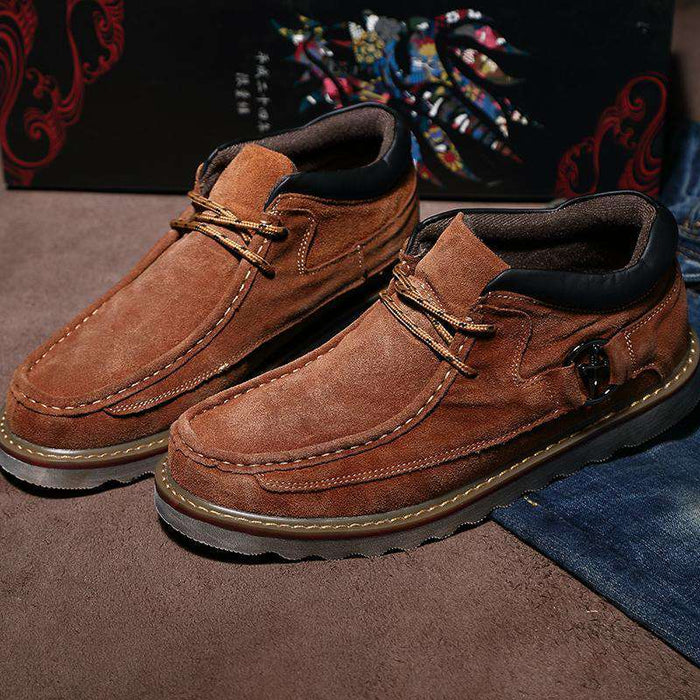 Men's Suede Leather Boots