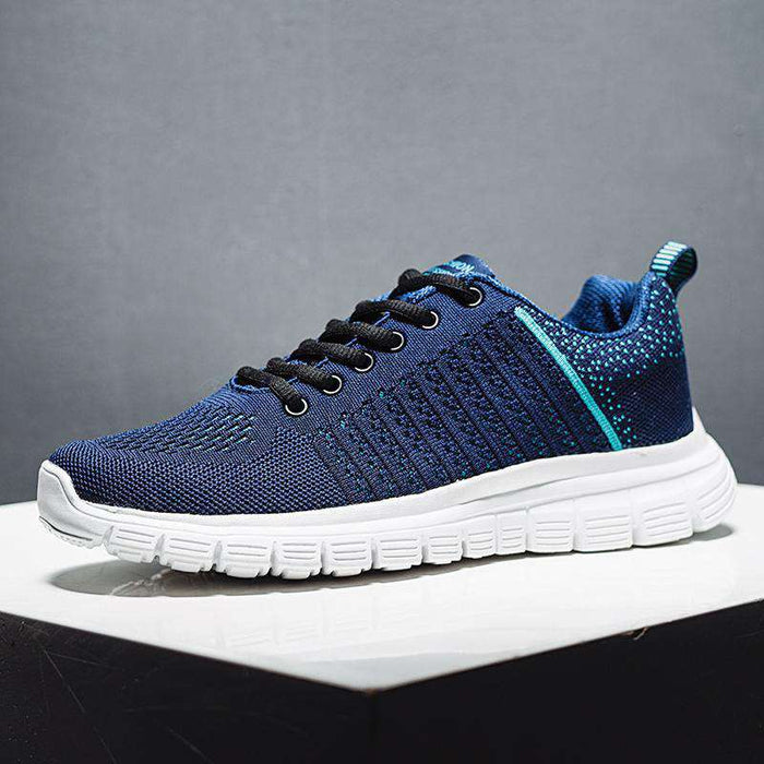 Men's Lace-up Breathable Sneakers