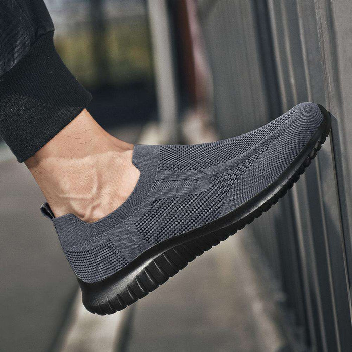 Mne's Slip On Breathable Walking Shoes
