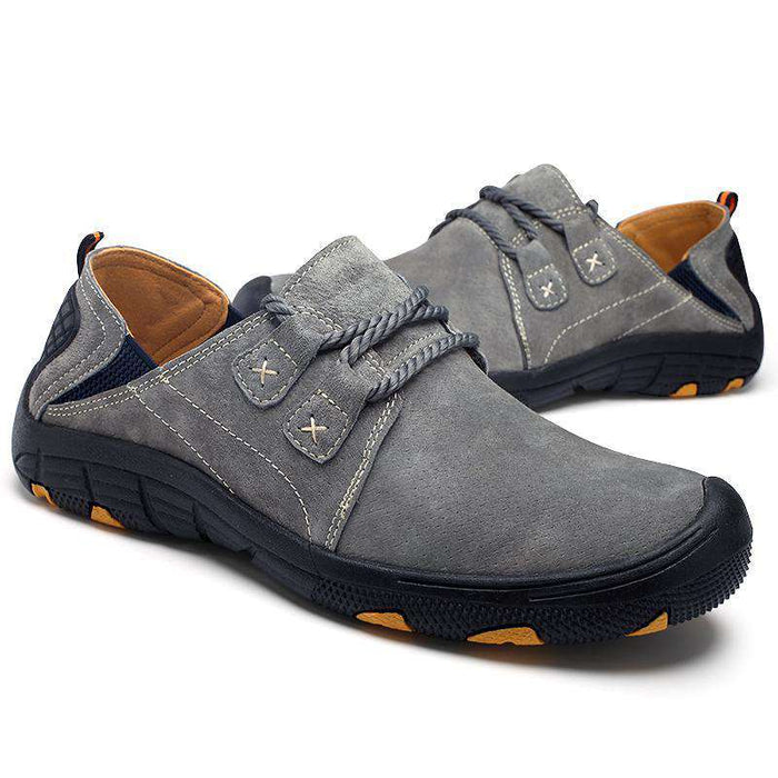 Tiosebon Outdoor Hiking Leather Shoes