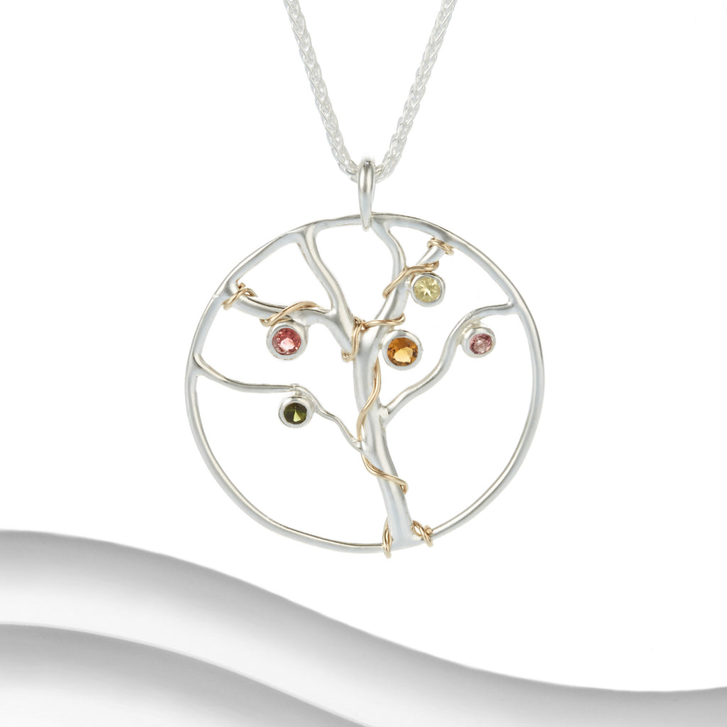 Banyan - Sterling Silver Tree Of Life Necklace
