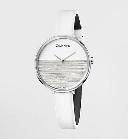 Calvin Klein - Rise, White Ladies Watch