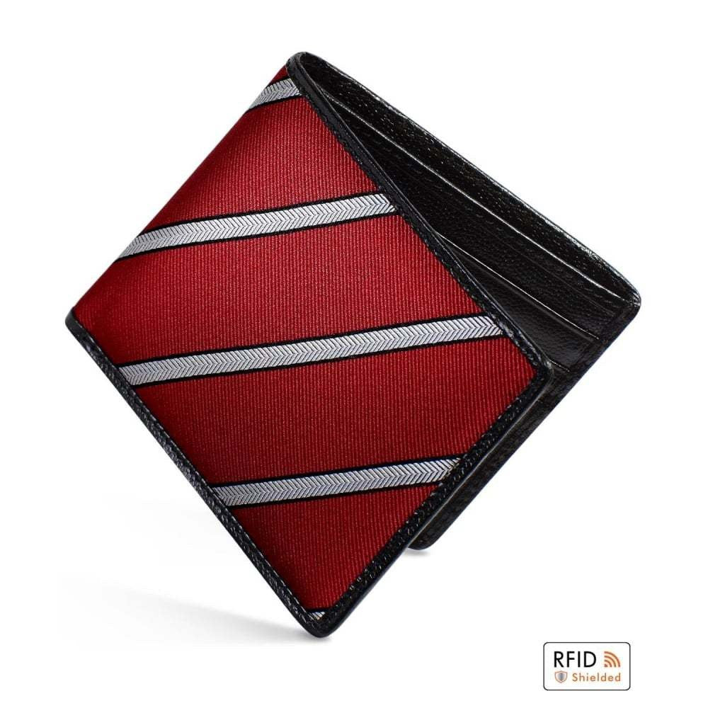 Dalvey - Silk Herringbone Stripe Wallet