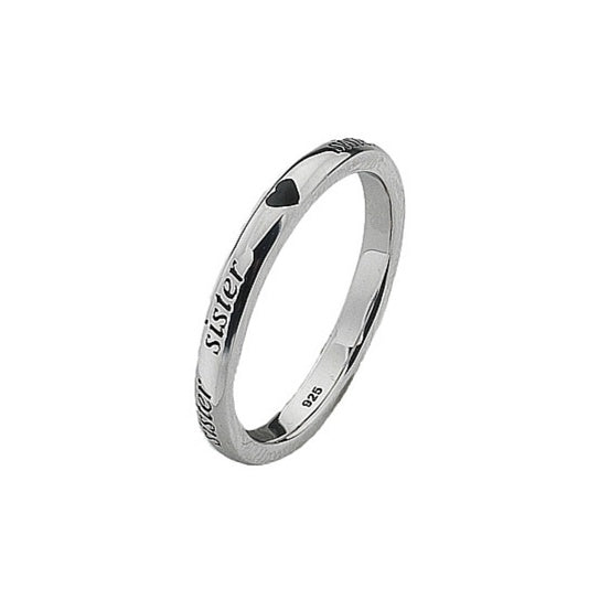 Virtue - Sterling Silver Sister Ring