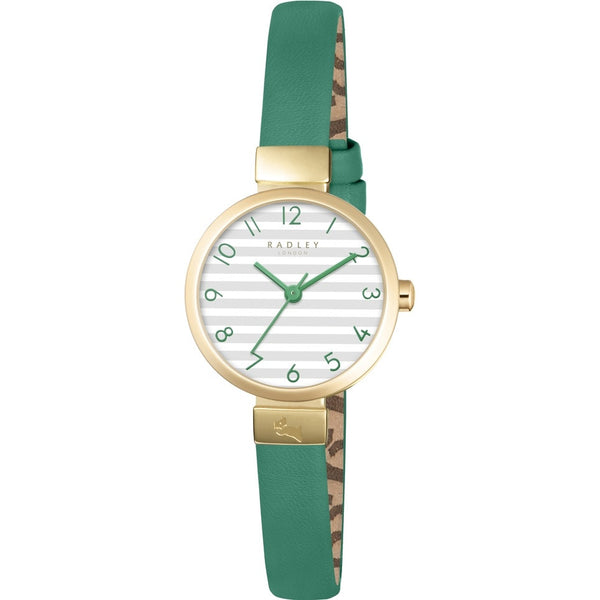 Radley - Beaufort, Yellow Gold Plate Leather Strap Watch