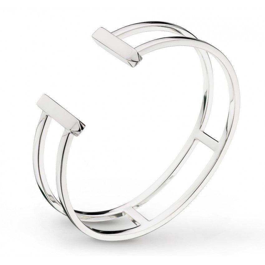 Kit Heath - Manhattan, Sterling Silver Bangle