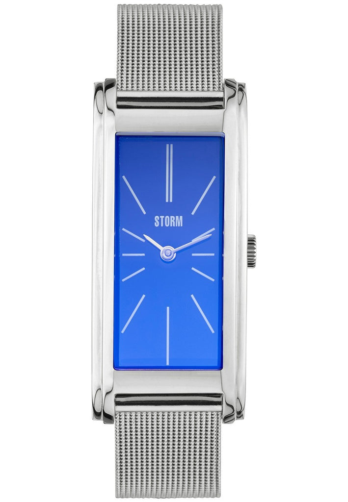 Storm - Ladies', Silka Lazer Blue, Stainless Steel Blue Dial Watch