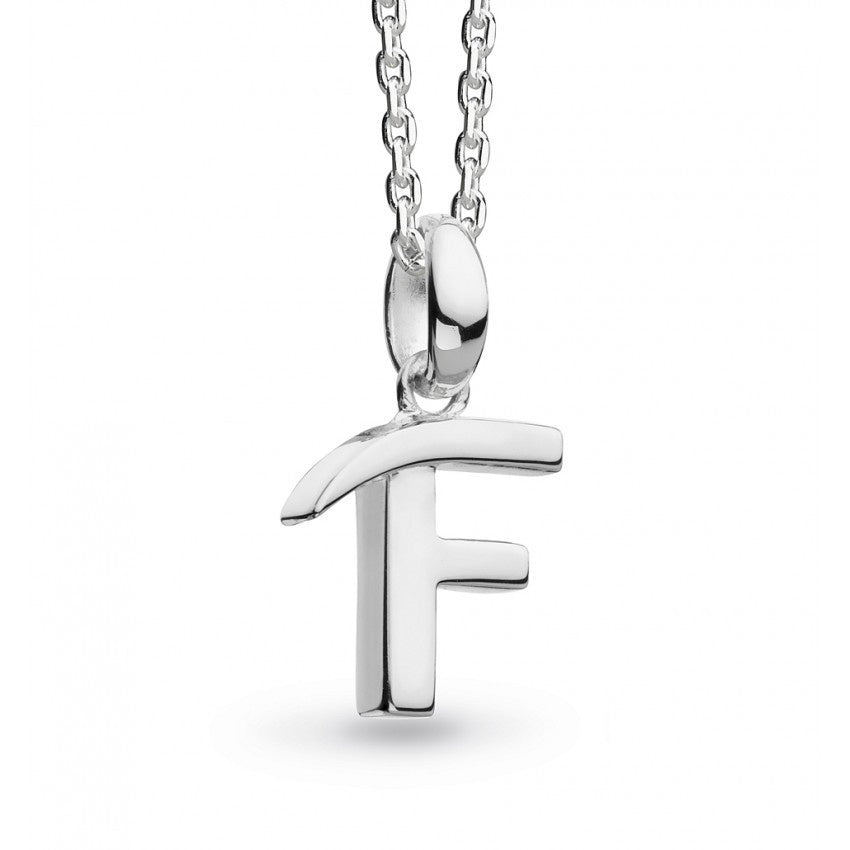 Kit Heath - Initial, Sterling Silver F Necklace