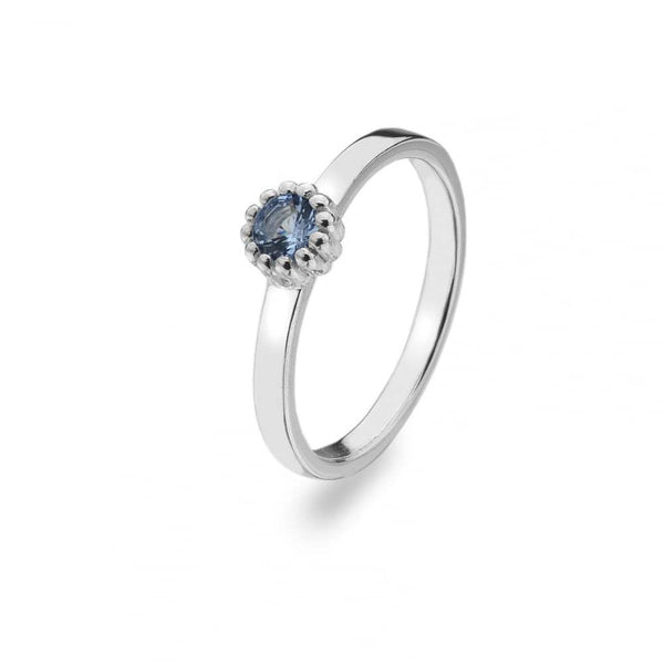 Virtue - December Birthstone, Sterling Silver Ring