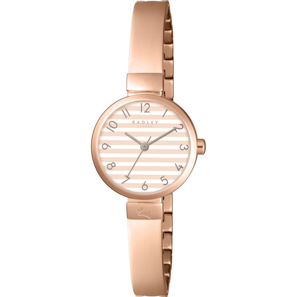 Radley - Beaufort, Rose Gold Plate Half Bangle Watch