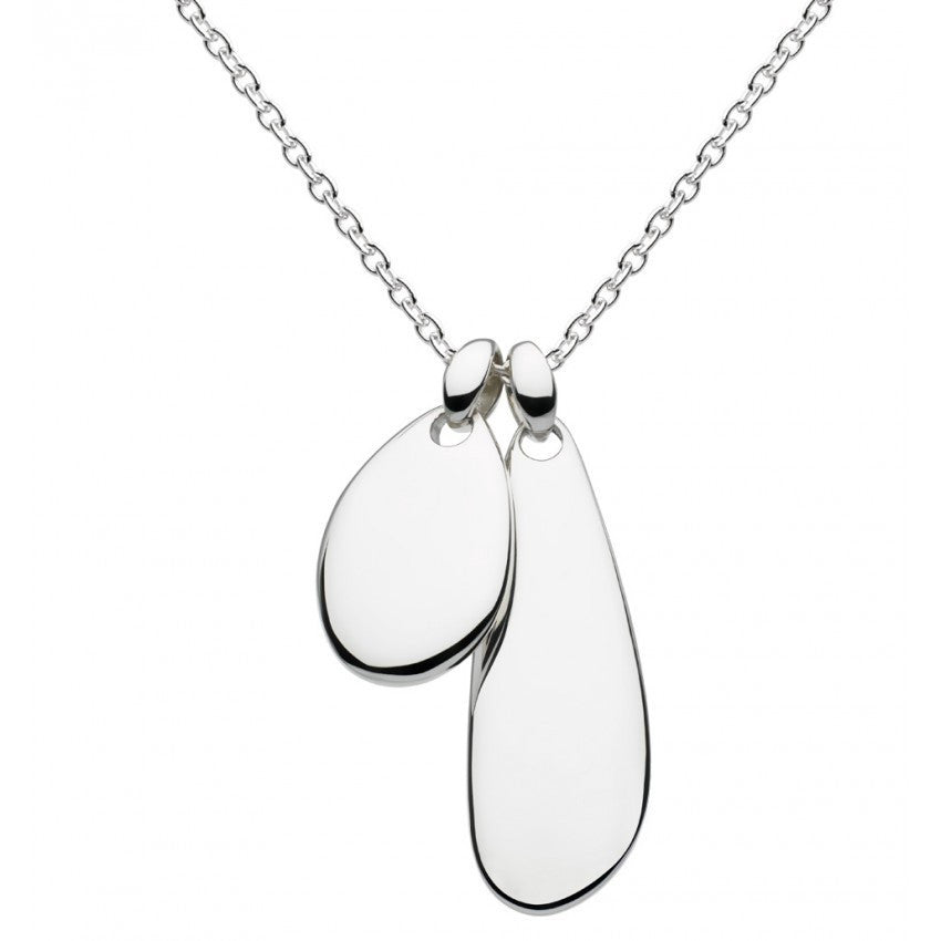 Kit Heath - Double Coast , Sterling Silver Necklace, Size 18""