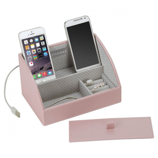 Stackers - Soft Pink Mini Phone Valet