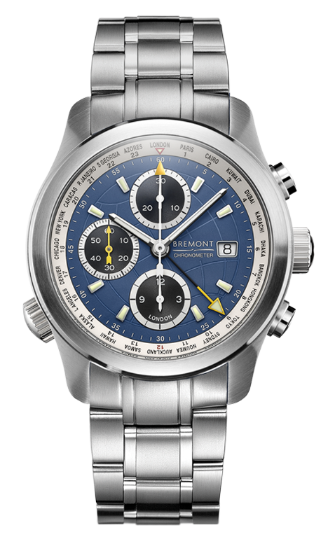 Bremont - ALT1-WT/BL/BR World Timers Watch