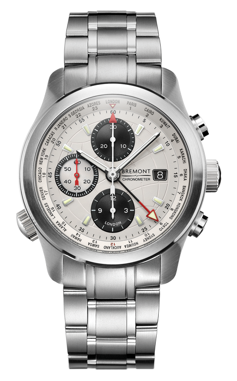 Bremont - ALT1-WT/WH/BR World Timers Watch