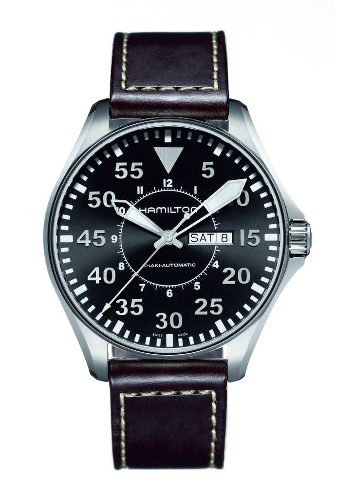 Hamilton Watch - Khaki / Aviation Pilot Auto