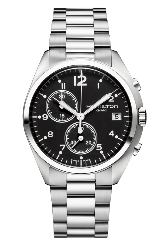 Hamilton Watch - Khaki / Aviation Pilot Pioneer Chrono Quartz