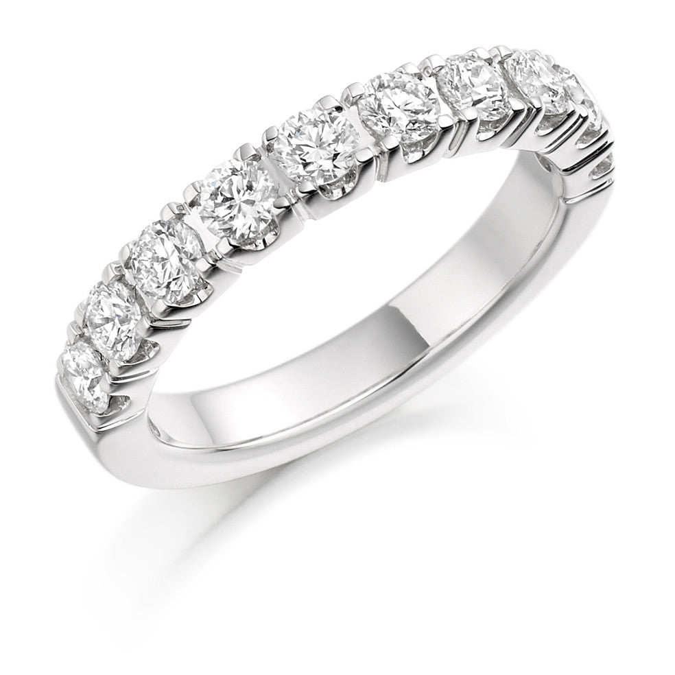 The Raphael Collection - Half Eternity Ring, Diamond Set - 1.00ct.