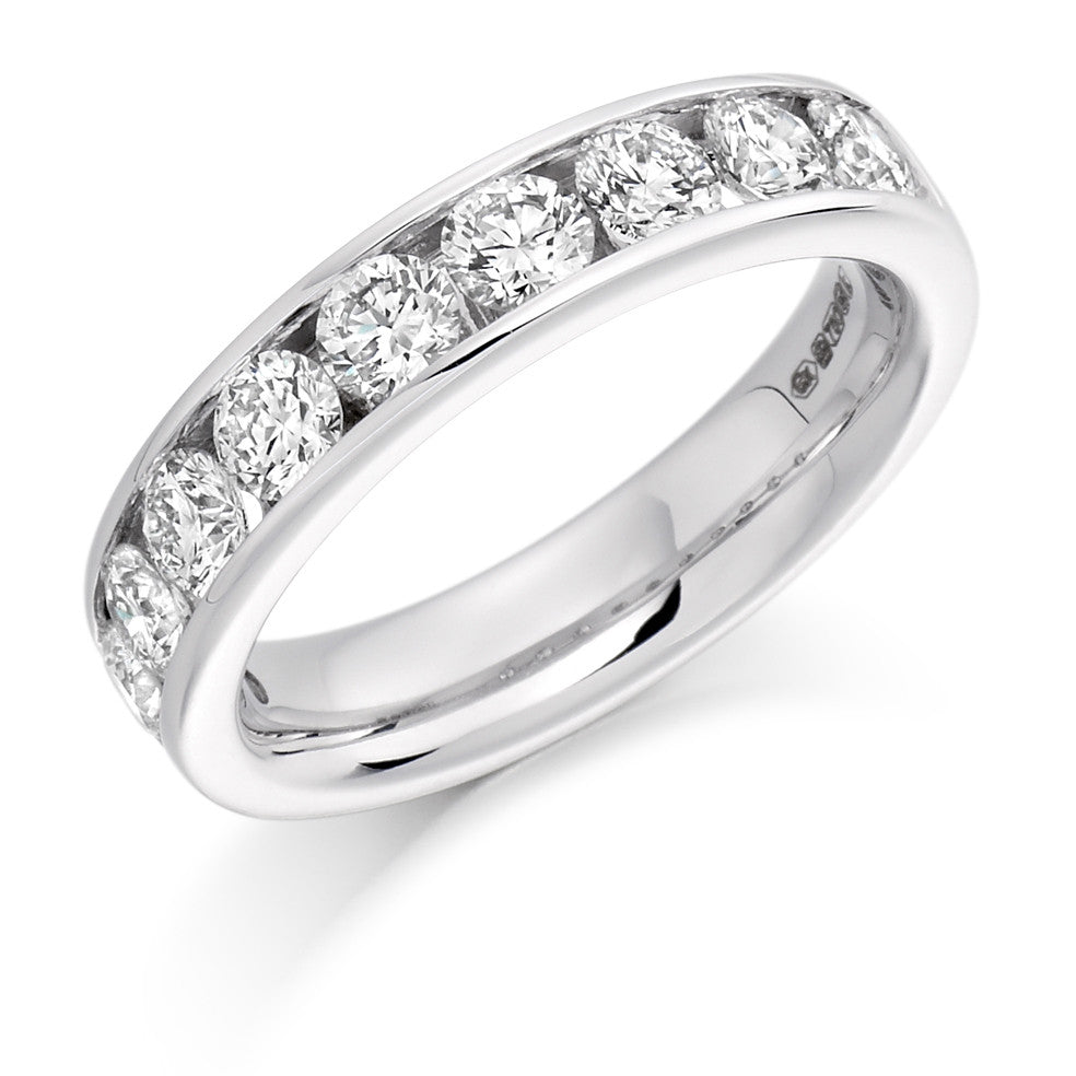 The Raphael Collection - Half Eternity Ring, Diamond Set - 1.50ct.