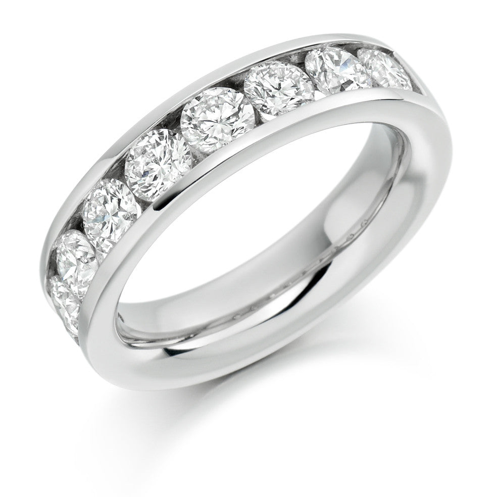 The Raphael Collection - Half Eternity Ring, Diamond Set - 2.00ct.