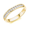 The Raphael Collection - Half Eternity Ring, Diamond Set - 0.35ct.