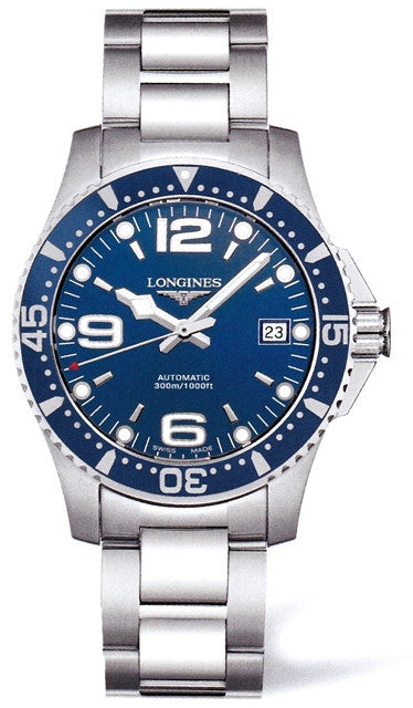 Longines HydroConquest Automatic 39mm Watch L3.641.4.96.6
