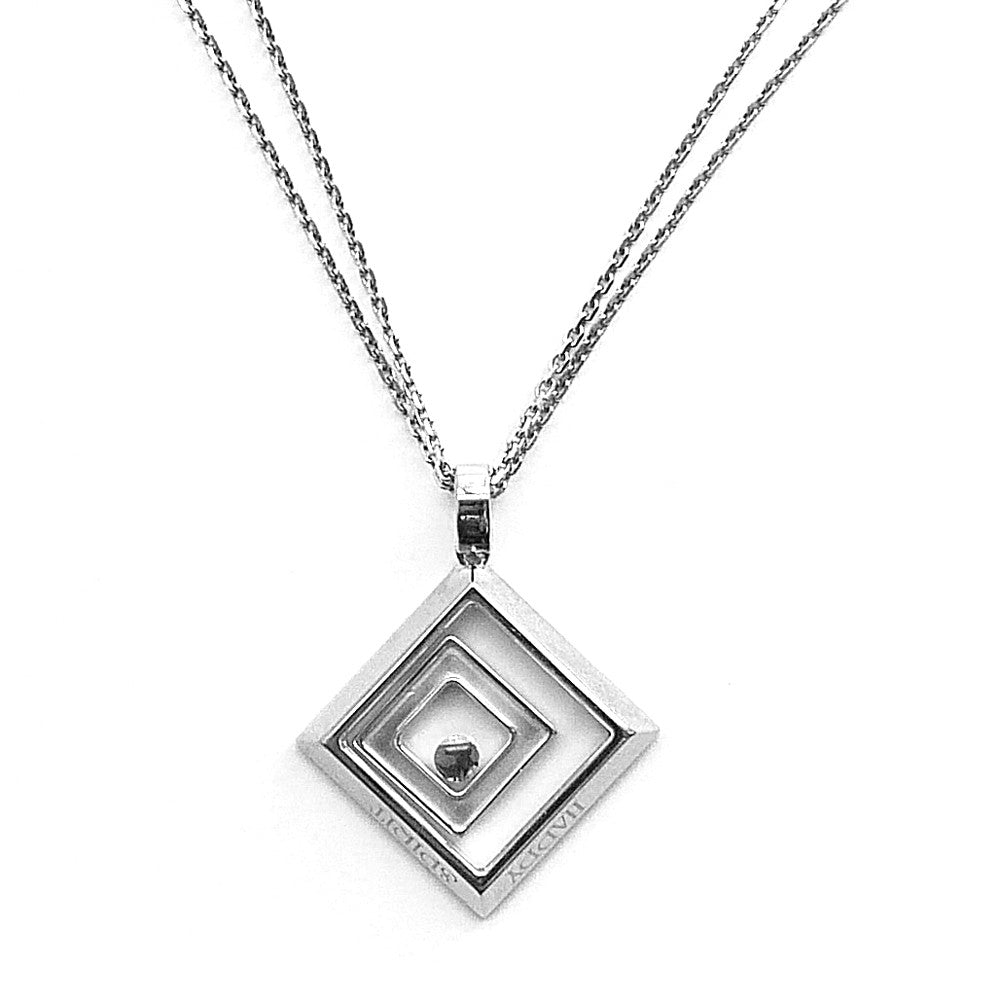 Chopard happy spirit pendant diamond set in 18ct white gold chopard happy spirit pendant diamond set in 18ct white gold mozeypictures