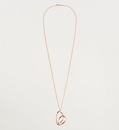 Calvin Klein - Warm, Rose Gold Stainless Steel Heart Necklace