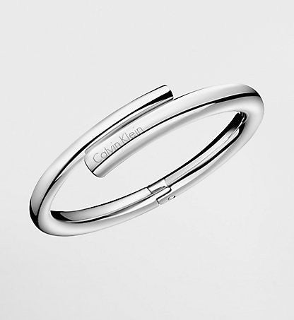 Calvin Klein - Stainless Steel Hinged Bangle