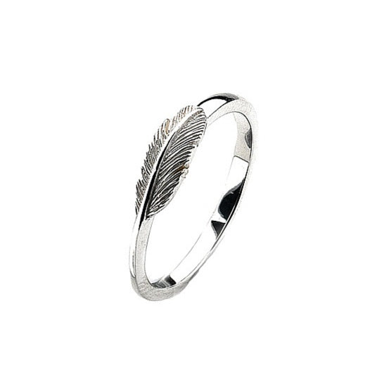Virtue - Sterling Silver Feather Ring