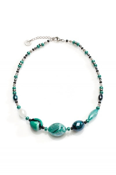 Antica Murrina - Crevan, Murano Glass Choker Necklace