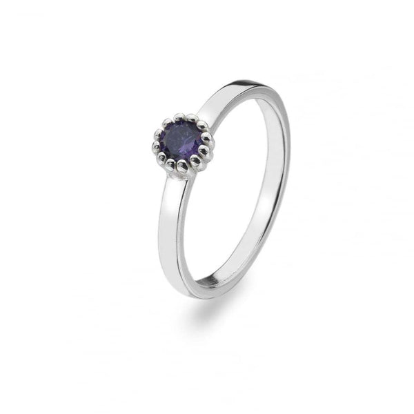 Virtue - February Birthstone Ring