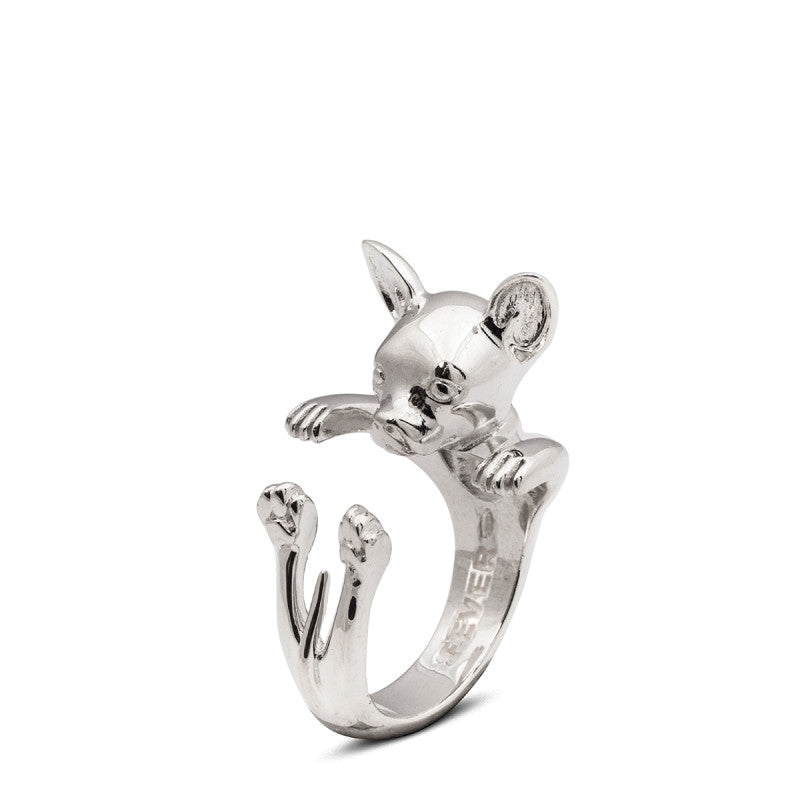 Dog Fever - Chihuahua - Dog Ring in Sterling Silver
