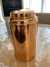 Load image into Gallery viewer, copper tea caddy