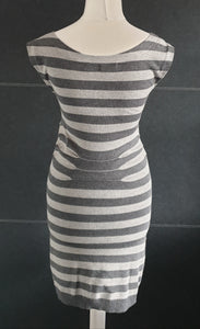 Ted Baker Dark and Light Grey Dress