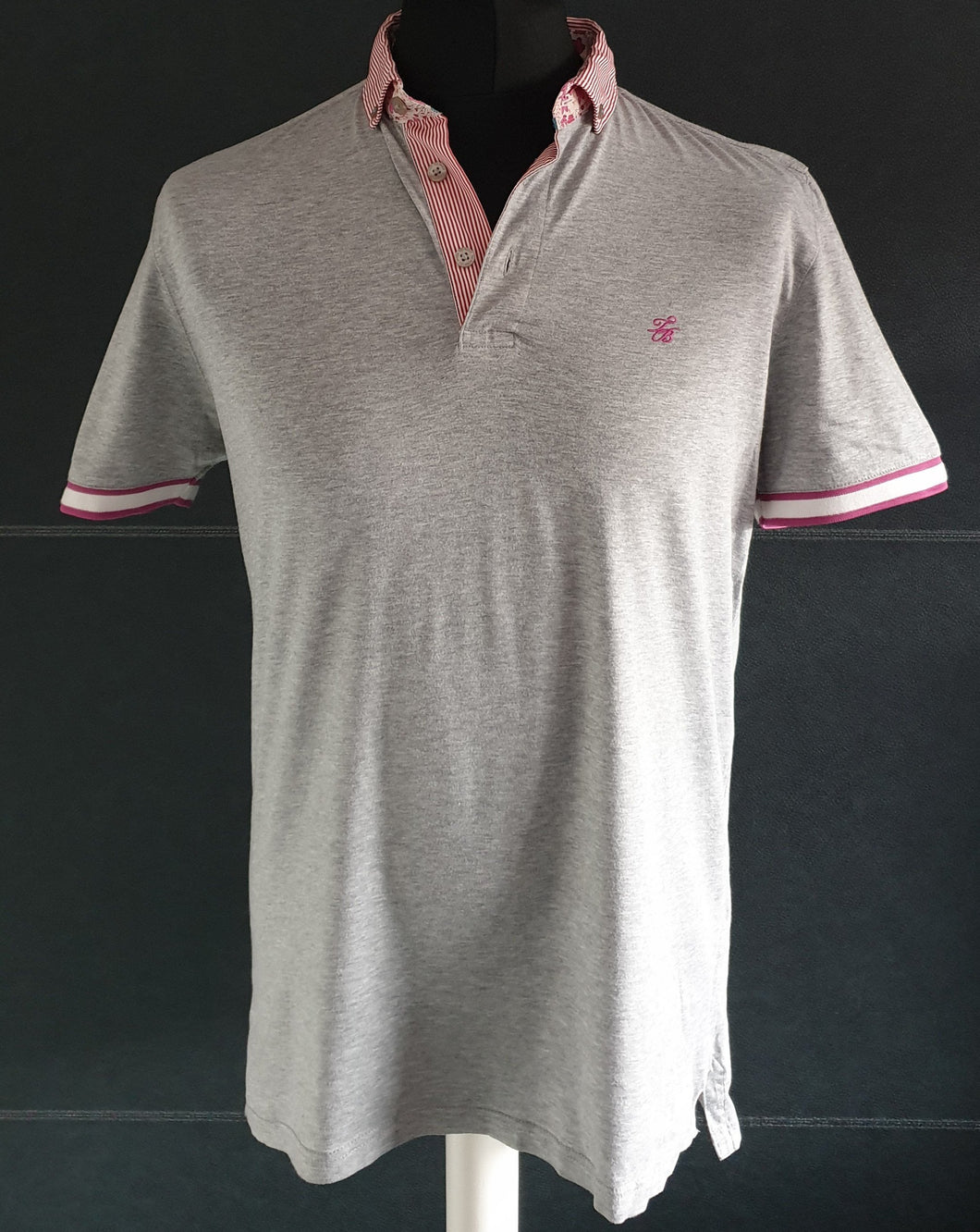 Ted Baker Grey Polo Shirt