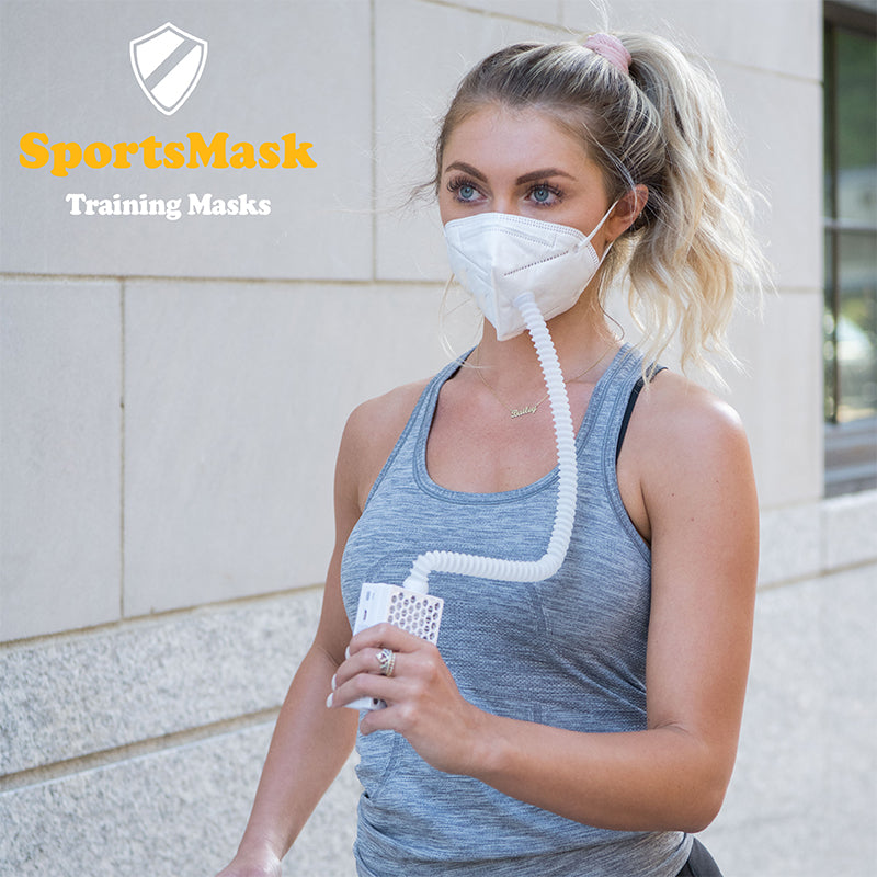 HEPA Filter Face Mask, Oxygen Ventilator Sports Mask, 3-Speed Airflow Ventilator, Air Purifier Masks PM2.5 H13 - LYFY-HEPA-MASK - lyfy.co