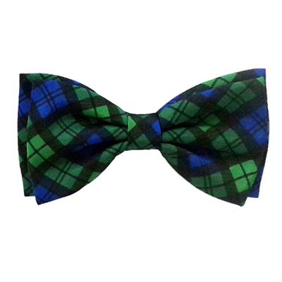 Blackwatch Plaid Bow Tie