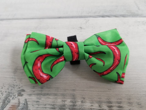 Chili Peppers Bow Tie