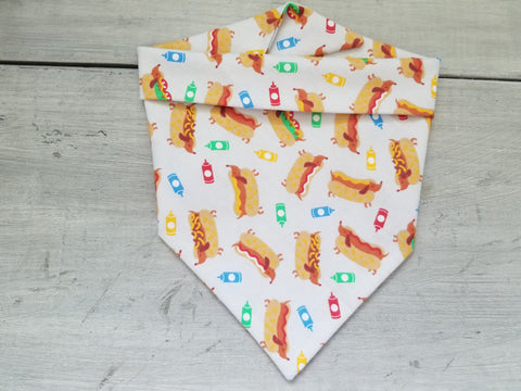 Hot Dog Bandana