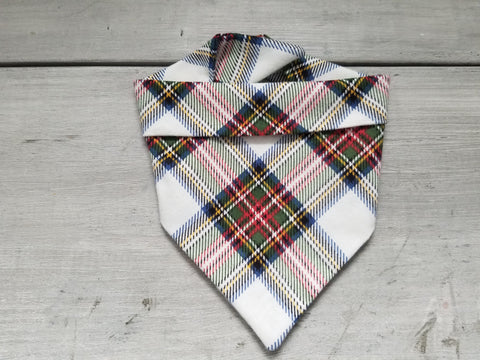 Traditional Plaid Bandana