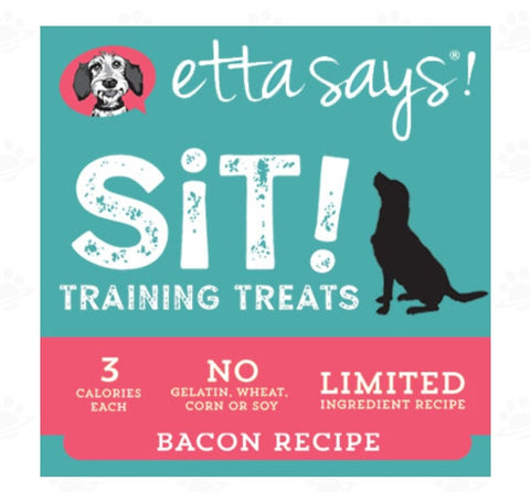 Etta Says Sit Training Treats - Bacon Recipe