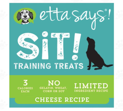 Etta Says Sit Training Treats - Cheese Recipe